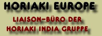 Horiaki Europe, Liaison-Office of Horiaki India Group